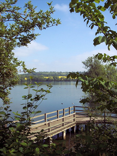 park lake spring jetty country northamptonshire reservoir daventry 050507 v1m