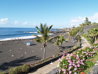Playa Jardín in Puerto de la Cruz (1)