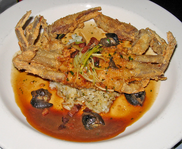 Fried Soft Shell Crab & Escargots | Flickr - Photo Sharing!