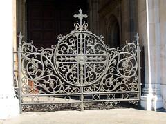 Grate of St. Alexander Nevskij Cathedral
