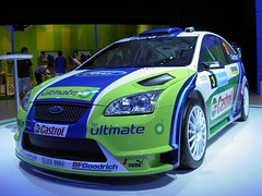 race car, automobile, automotive exterior, vehicle, automotive design, ford focus rs wrc, world rally car, bumper, ford, land vehicle, supercar, sports car,