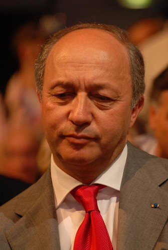 Laurent Fabius - Royal & Zapatero's meeting in Toulouse for the 2007 French presidential election 0538 2007-04-19