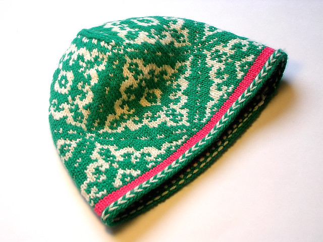 Popknits: Patterns: Fair Isle Beret