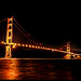 Golden Gate Bridge by night by say.fromage