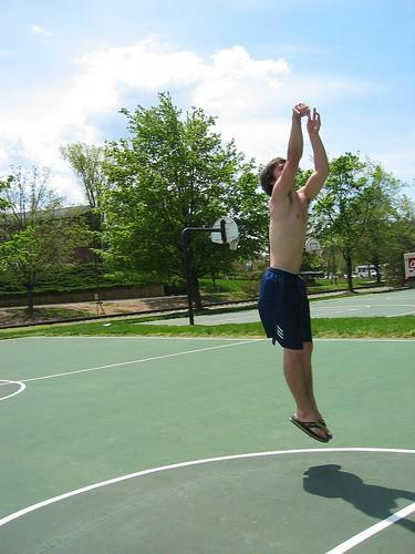 shirtless men basketball guys