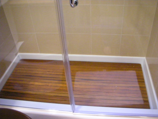 Teak shower base flickr photo sharing