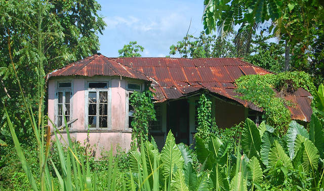 old abandoned house in trelawny jamaica i love these old flickr photo sharing. Black Bedroom Furniture Sets. Home Design Ideas