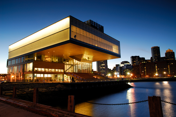 Institute of Contemporary Art in Boston's Waterfront Neighborhood