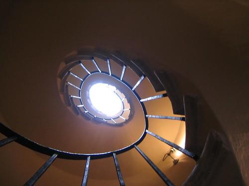 Staircase at La Rotunda