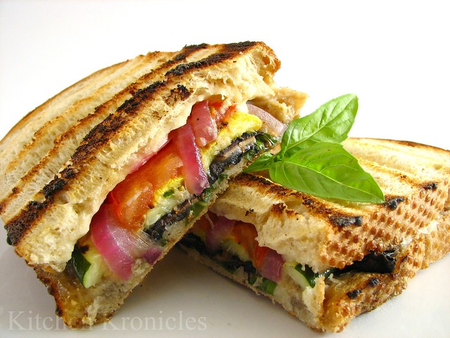 Grilled Veggie Panini | Flickr - Photo Sharing!