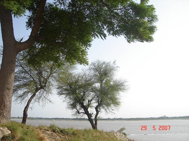 River Indus, Latifabad, Hyderabad, Sindh.