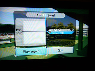 Wii Highscore tennis 2395