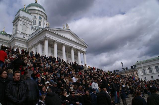 Clima de Finlandia: nublado