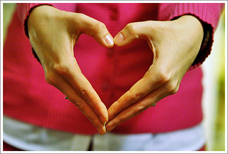 heart is in my hands from Flickr via Wylio