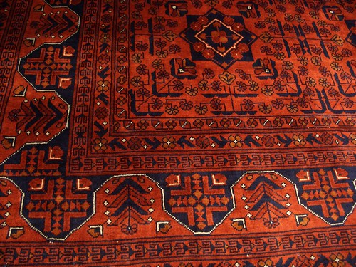 "Red rug, the ""Belgique"""