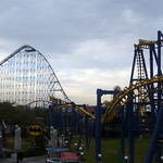 Superman: the ride & Batman: the ride