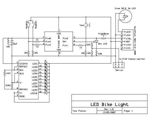 successlessness  led bike light project