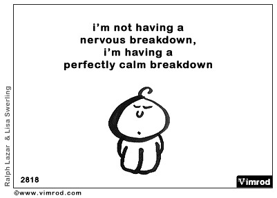 how to stop a nervous breakdown