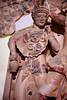 museo di villa Giulia - particolari dell'altorilievo di un tempi etrusco a Pyrgi