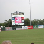 West End Field Scoreboard