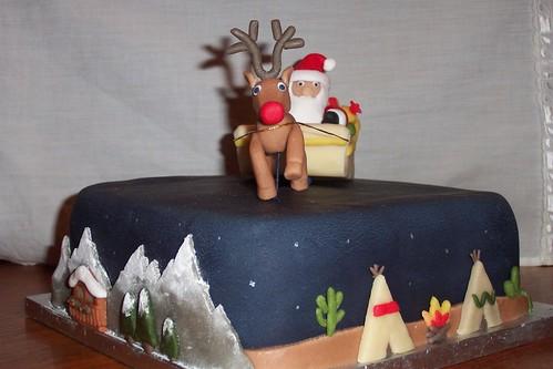 Christmas cake 06