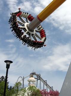 Image of Psyclone. park toronto ontario canada amusement roller wonderland coaster canadas