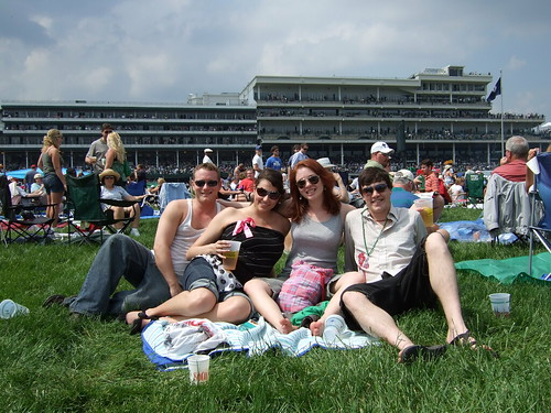 the crew at the derby