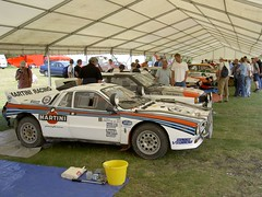 race car, automobile, vehicle, stock car racing, performance car, lancia 037, antique car, land vehicle, luxury vehicle, sports car,