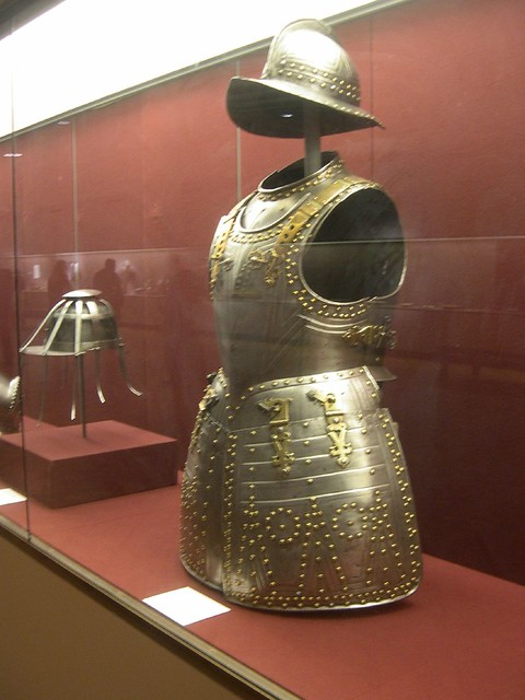 Header of suit of armour