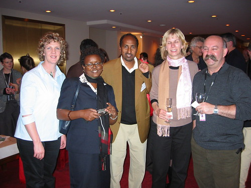 Delegates from New Zealand, Tanzania, Kenya, England and Australia at the IFACCA Arts and Education Mini-Summit, Melbourne, September 2005
