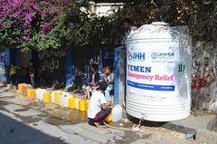 Water Relief in Taiz, Yemen