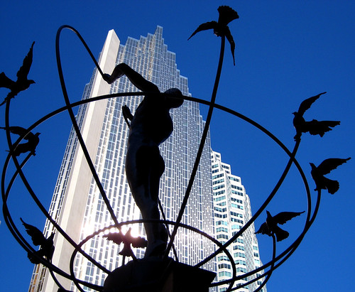 Royal Bank and Sculpture