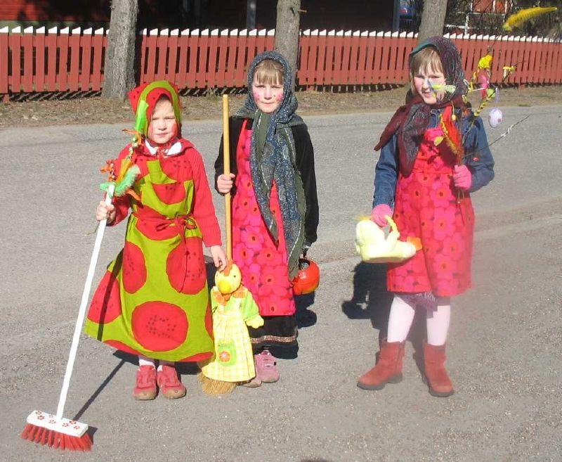 Wielkanocne czarownice z Finlandii