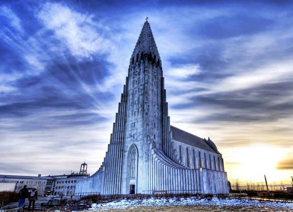 Церковь Халлгримура в Исландии