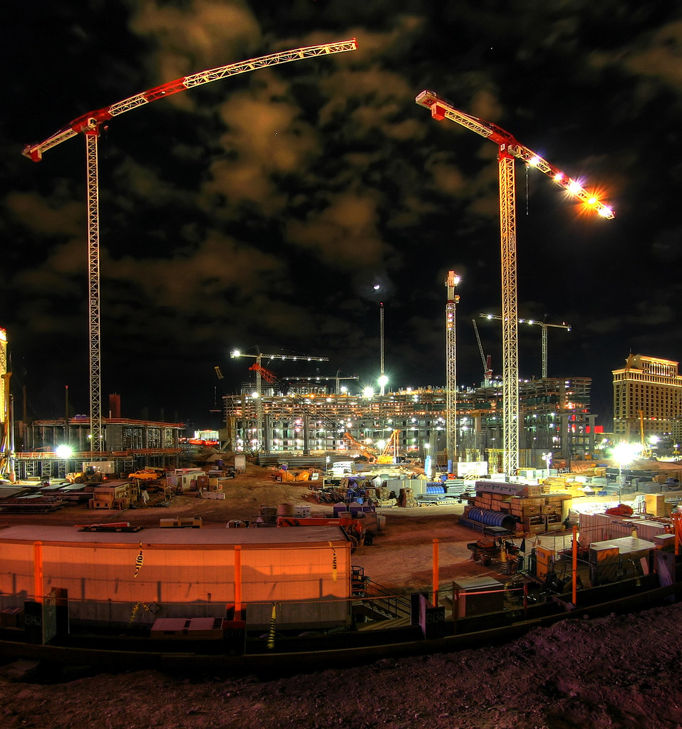 Construction in Vegas