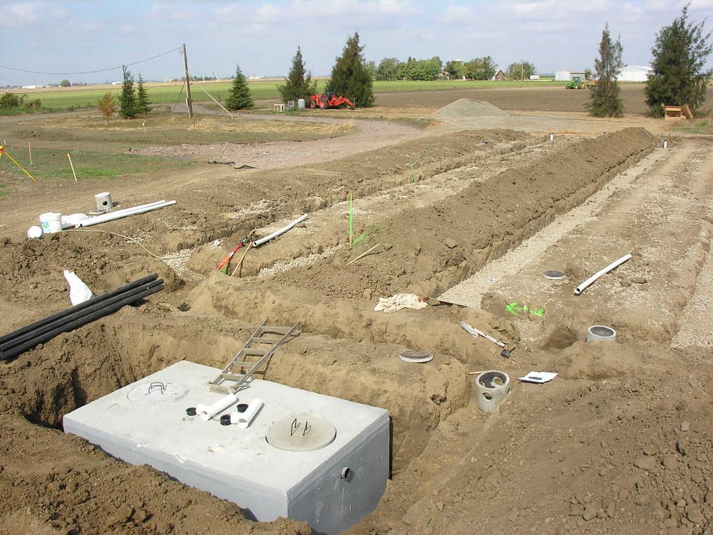 how to fix a leach field