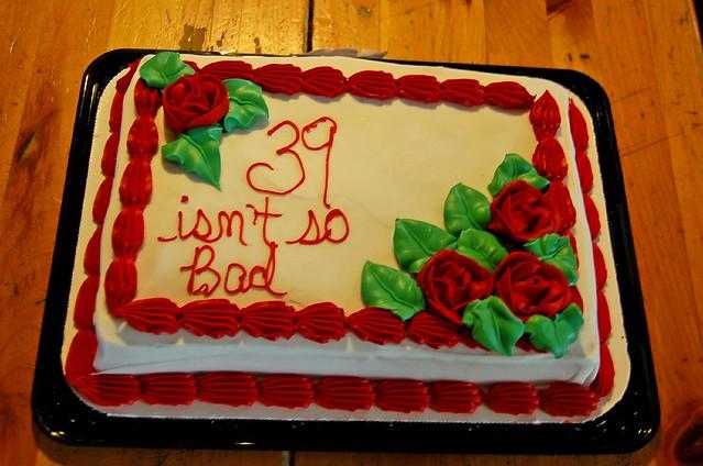 Birthday Cake Doesnt Tast Good