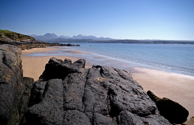 Torridon Mountains from Big Sand
