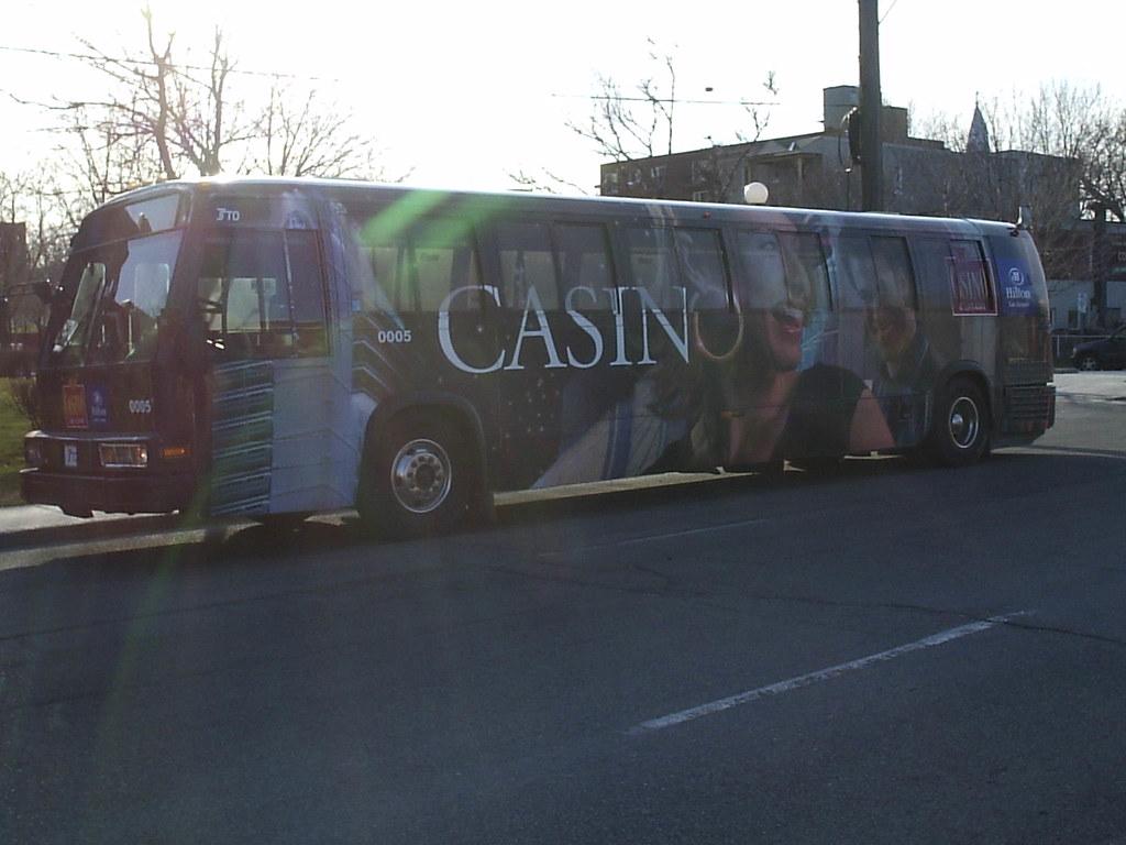 Casino Lac Leamy Bus Wrap