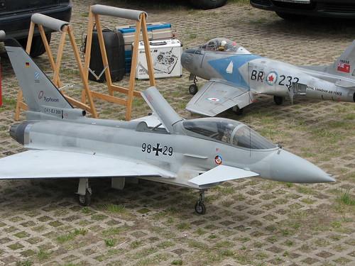 Eurofighter und Sabre