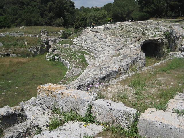 Roman amphitheater at Siracusa - 9