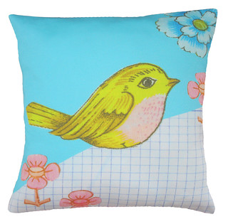clare nicolson tweet cushion