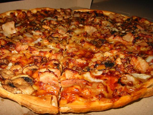 BBQ Chicken pizza from Pizza Hut | Flickr - Photo Sharing!
