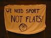 Sport not flats