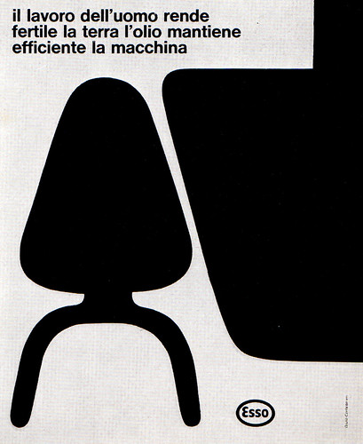 1960s Advertising - Magazine Ad - Esso Standard Italiana (Italy)