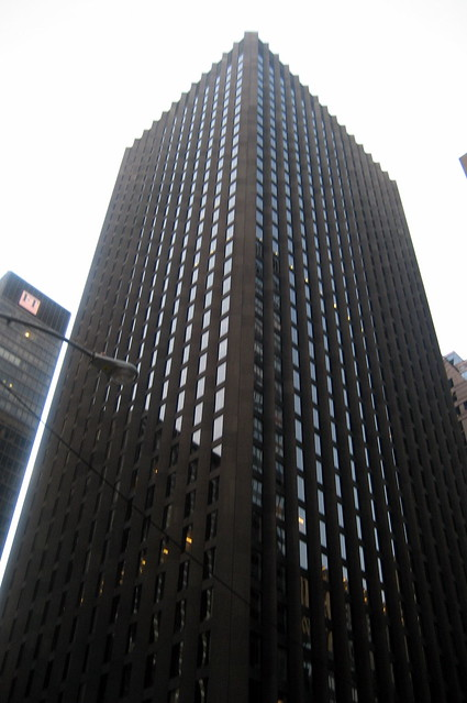 Nyc midtown cbs building flickr photo sharing for Cbs concrete