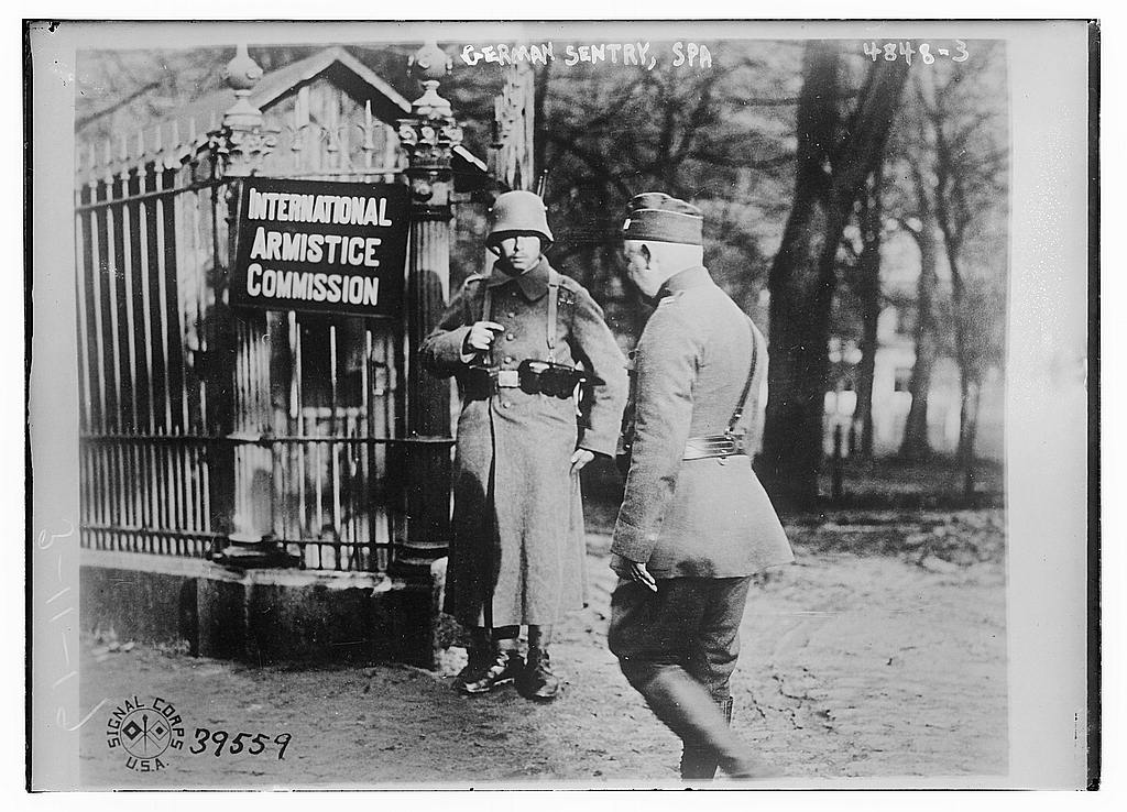 German sentry, Spa (LOC)
