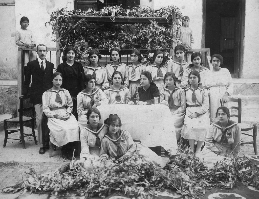 1910s - Cyprus - Maria Christodoulou School in Limassol