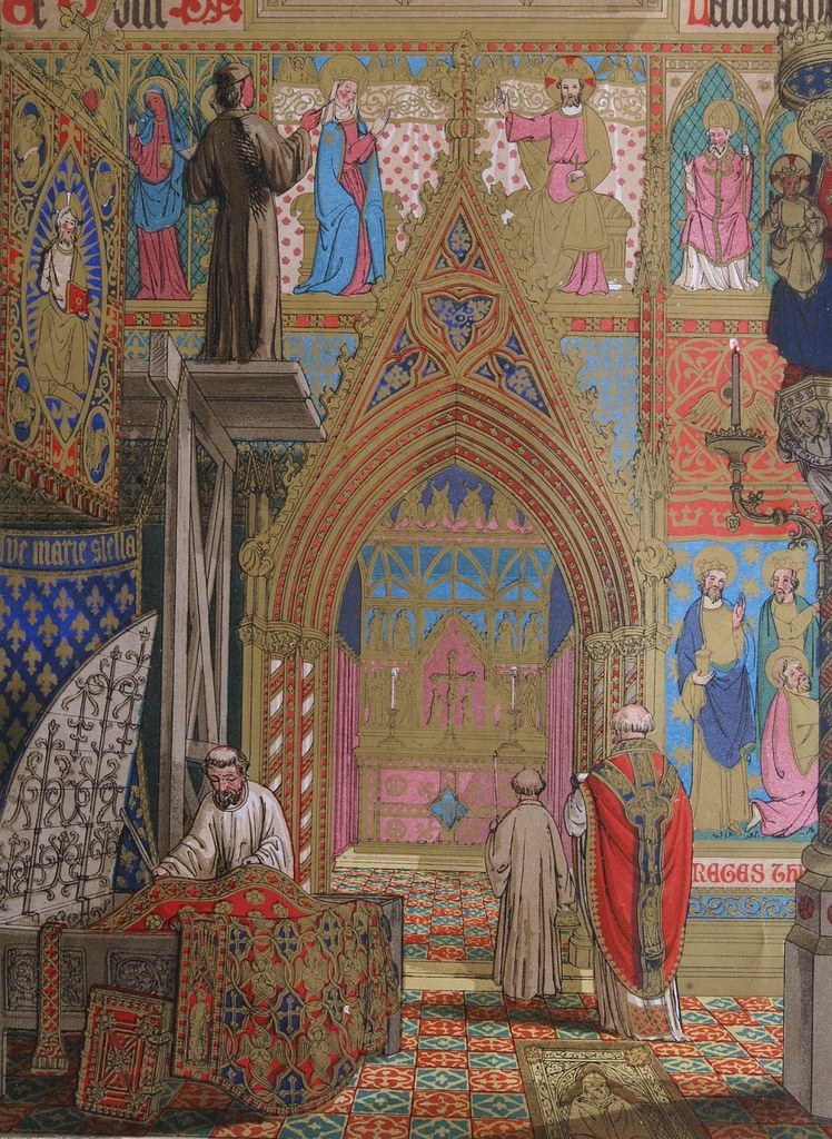 Modern Medievalism Gems From Pugin S Glossary Of Ecclesiastical