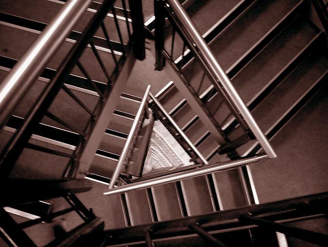 stairs, Fujifilm FinePix A310
